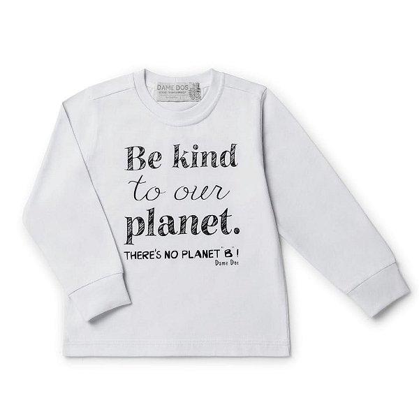 Camiseta Silk Planet Dame Dos Tamanhos 6 e 8