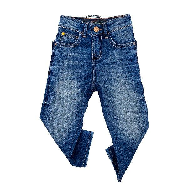 Calça Jeans Infantil Colcci Masculina Felipe Tamanho 4