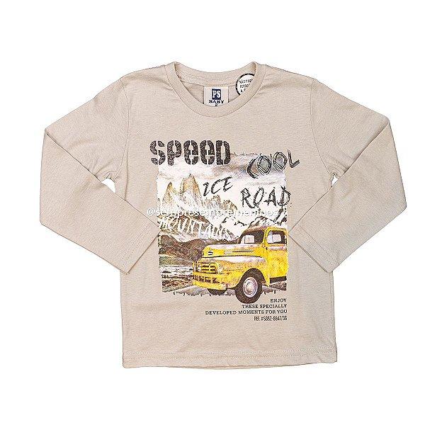 Camiseta e Calça Speed Ice Road Cool Passagem Secreta Tamanho 2
