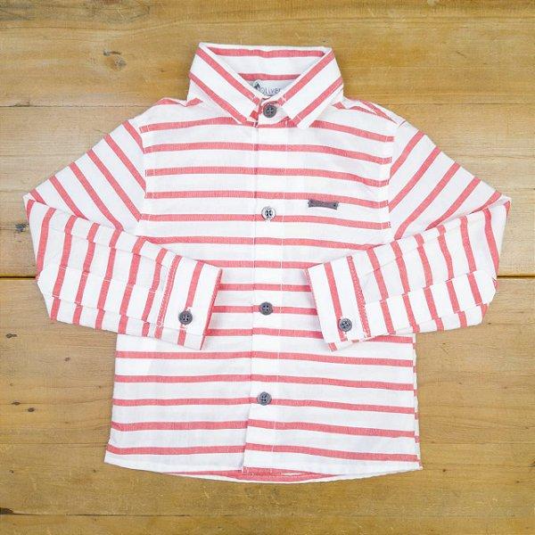 Camisa Listrada Oliver Tamanho 1