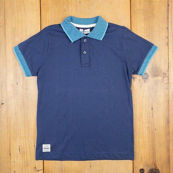Camisa Polo Marinho Luc Boo
