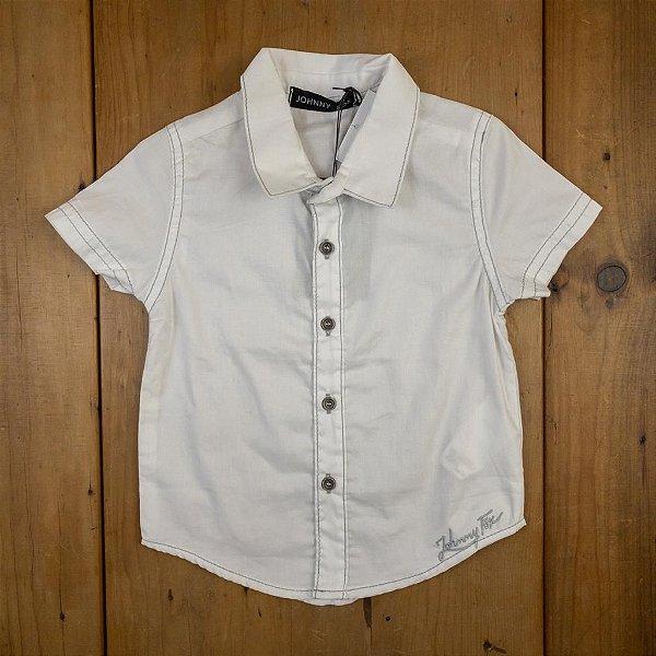 Camisa MC Branca Johnny Fox Tamanho 1