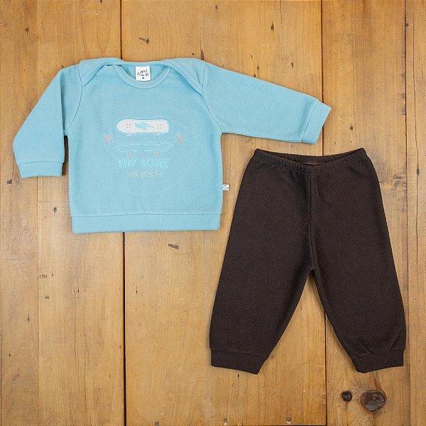 Conjunto Blusa e Calça Skate Ami de Lit Tamanho M