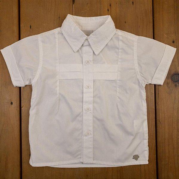 Conjunto Camisa e Bermuda Anjos Baby Tamanho G