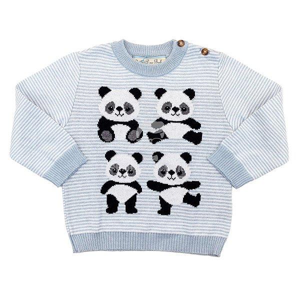 Blusa Infantil Pandas Dame Dos Tamanhos 1 e 4