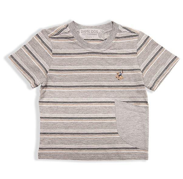 Camiseta Listrada Vert Dame Dos Tamanho 2