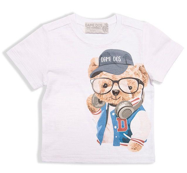 Camiseta Silk Urso Dame Dos Tamanho 1