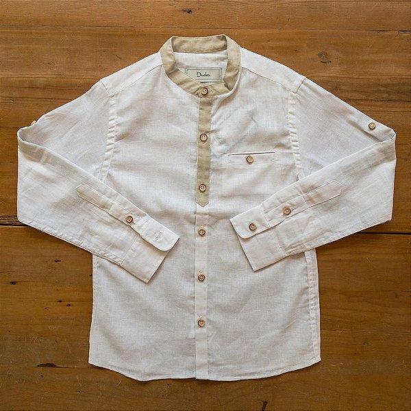 Camisa Bata Linho Dudes Tamanhos 6