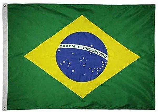 BANDEIRA BRASIL 2 PANOS SILK WGIL