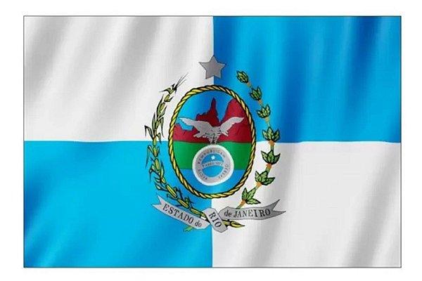 BANDEIRA RIO DE JANEIRO 2PANOS SILK