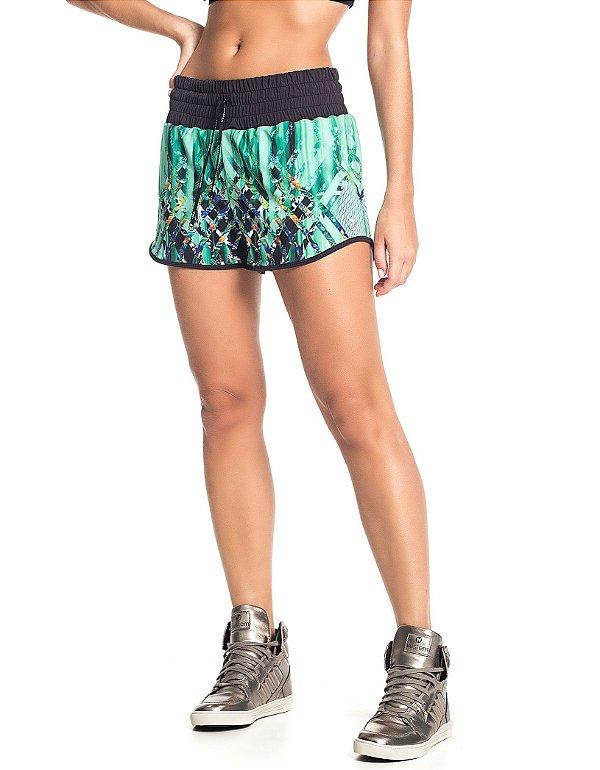 Shorts Vestem Sobreposto Rhythm Estampado