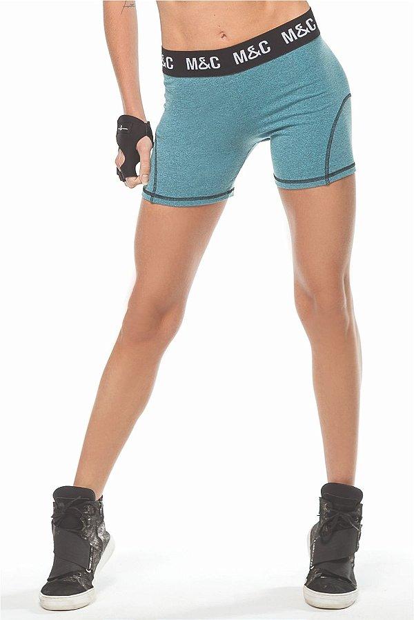 Shorts M & C Cross Azul