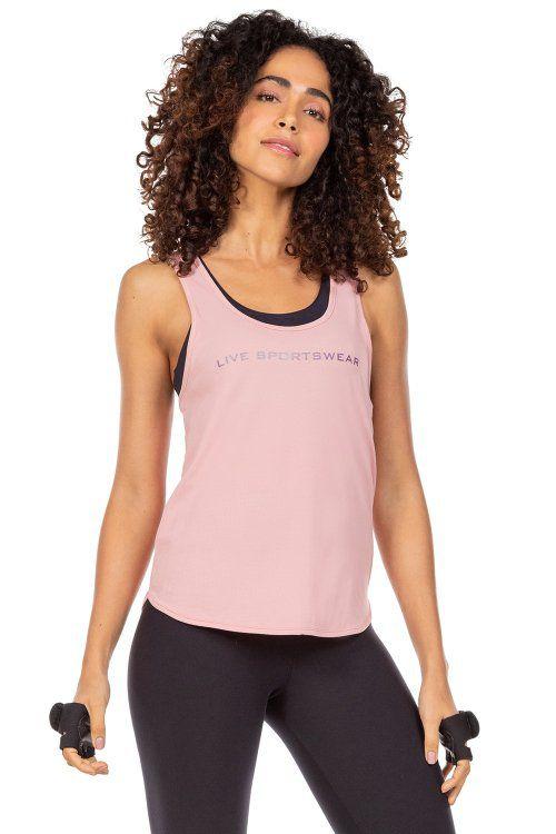 Regata Live Sportswear Rosa Neon