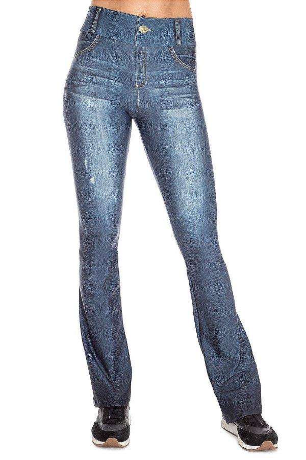 Calça Flare Live Jeans Beat Blue
