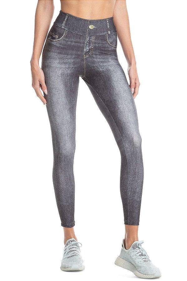 Calça Legging Jeans Live Attitude Black