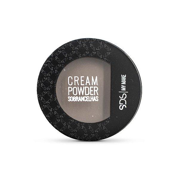 CREAM POWDER - Mousse para correção de falhas nas sobrancelhas