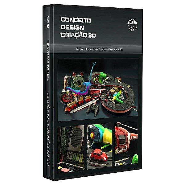 Curso Conceito, Design e Criação 3D