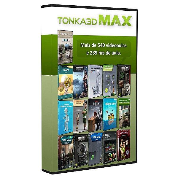 Coleção completa de todos os cursos e conteúdos CG