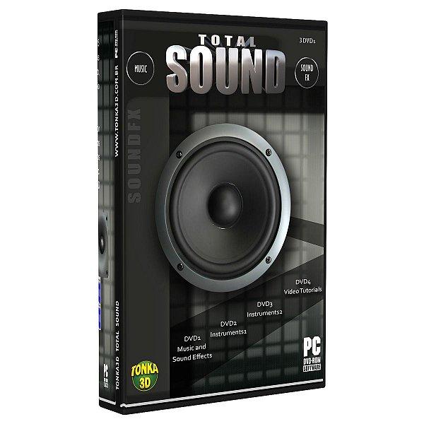 Coleção de trilhas e efeitos sonoros Total Sound