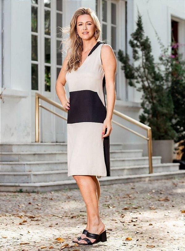 Vestido Viscose com Capuz - 20318