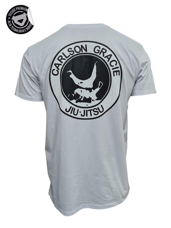 Camiseta Carlson Gracie Queda - Branca