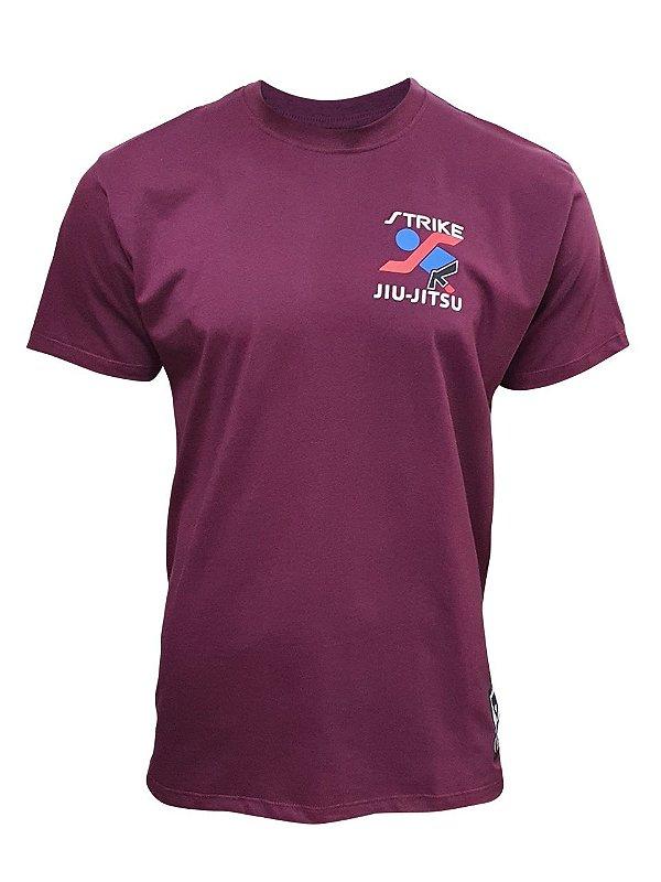 Camiseta Strike Jiu Jitsu - Vinho