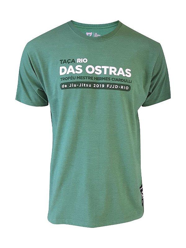 Camiseta Taça Rio das Ostras Verde Mescla