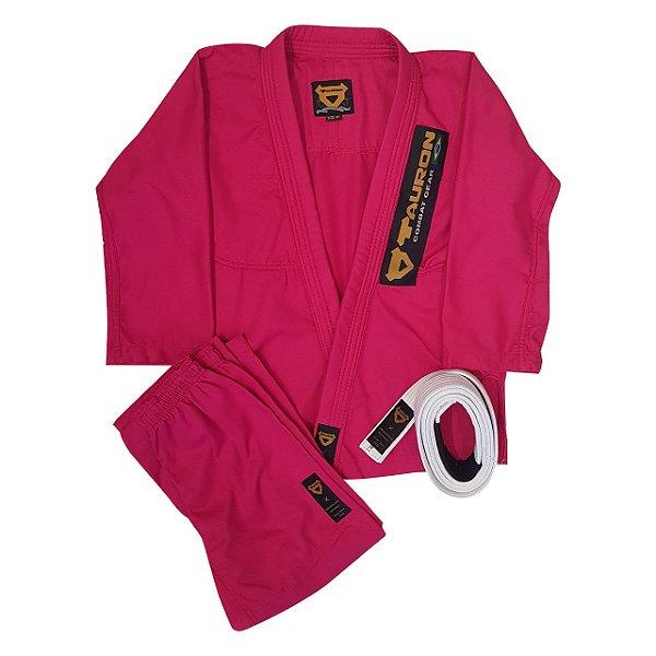 Kimono Juvenil Tauron Rosa