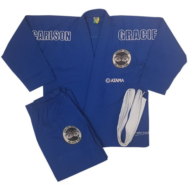 Kimono Juvenil Carlson Gracie Azul