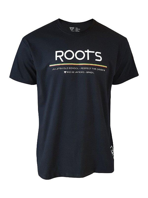 Camiseta Roots Preta