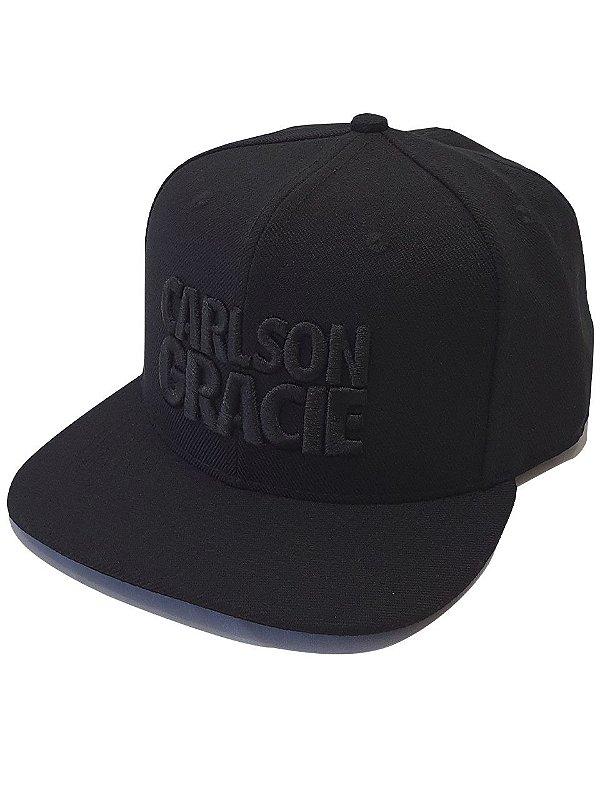 Boné - Carlson Gracie Black