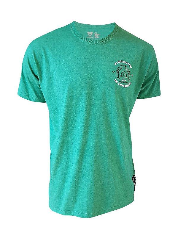 Camiseta Encontro de Veteranos Verde