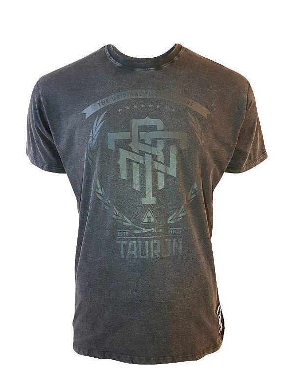 Camiseta Estonada TRN Preta Estonada