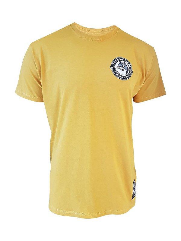 Camiseta Bulldog Mostarda