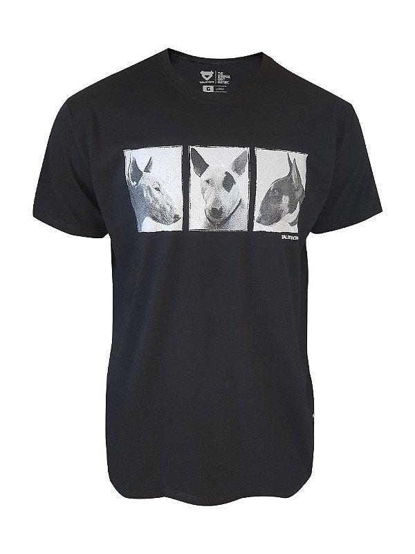 Camiseta Bullterrier Preta