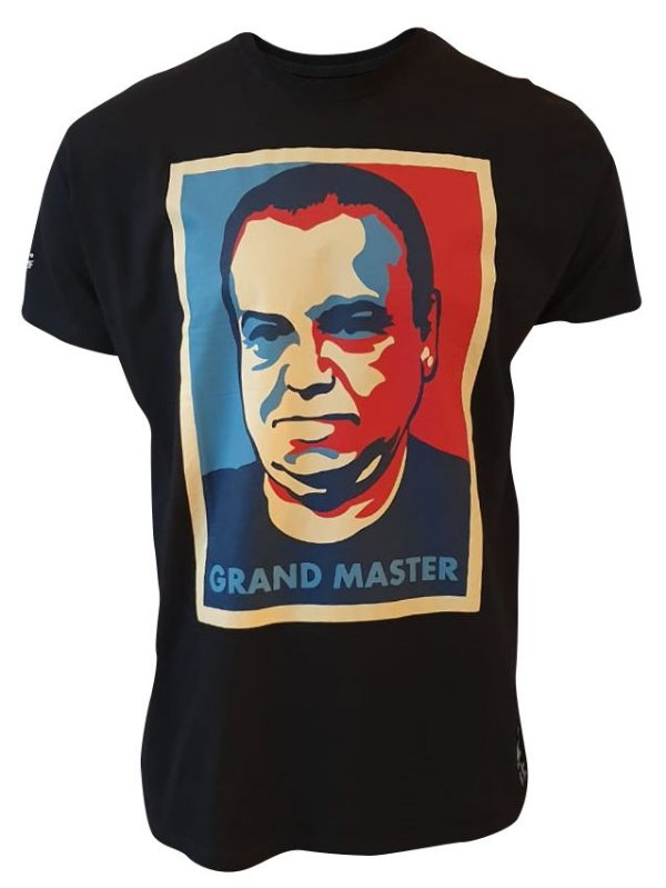 Camiseta Carlson Gracie Grand Master Preto
