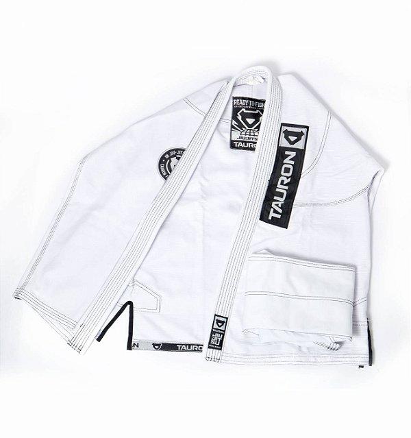 Kimono Tauron Premium - Branco / Preto