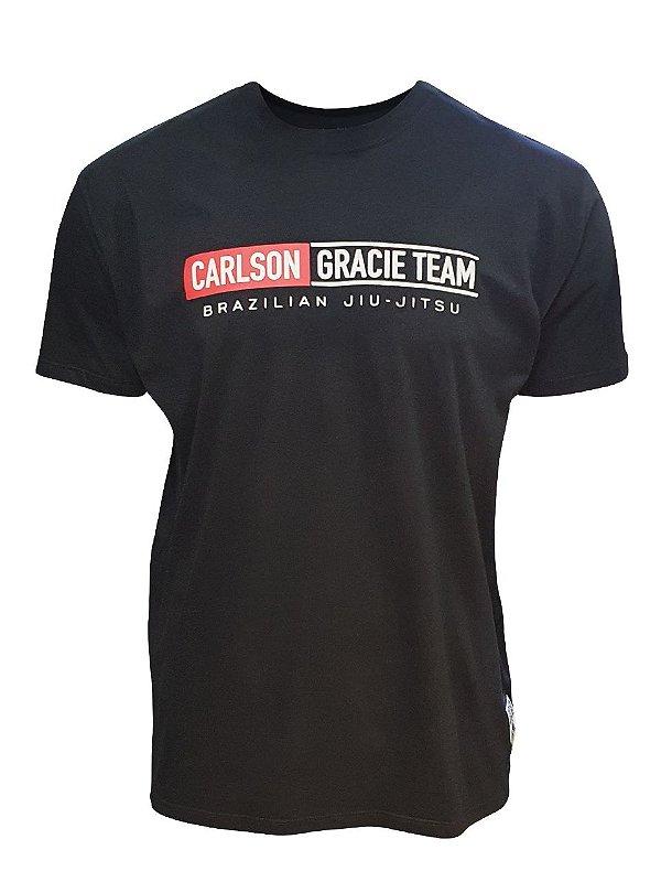 Camiseta Carlson Gracie Mata Leão Preta