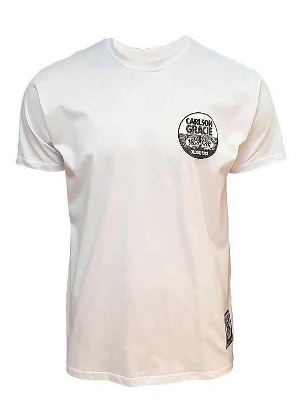 Camiseta Carlson Gracie Company - Branca