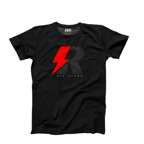 Camiseta jiu jitsu RED THUNDER