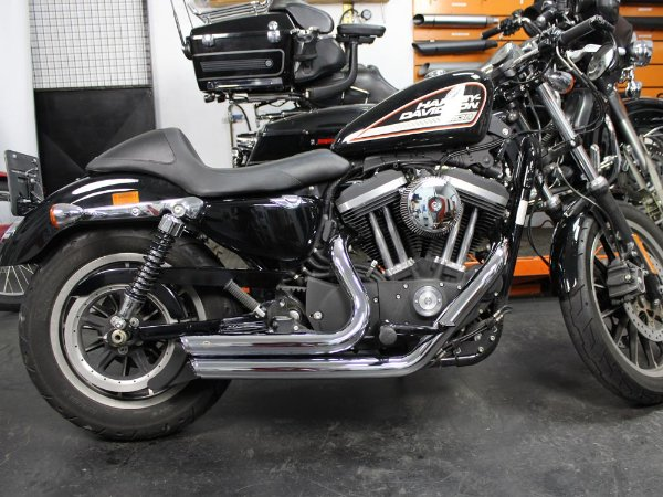 "Escapamento sportster forty eight 2014 K10 2"" 1/4 cromado"