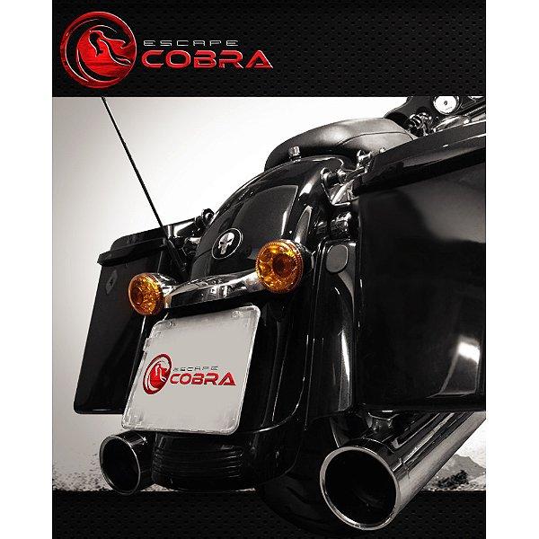 Ponteira touring ultra limited 2007/16 slashcut croma cobra
