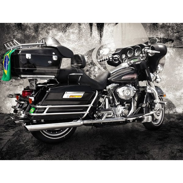 Ponteira touring road king 2017 até 2020 chanfro móvel cobra