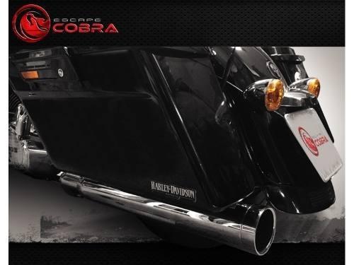 Ponteira touring road king 2017 a 2020 slashcut croma cobra