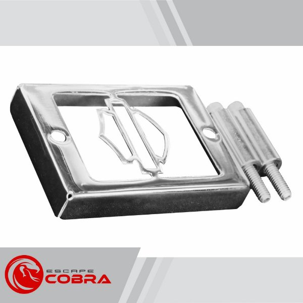 Capa de retificador harley sportster XL 1200 cromado cobra