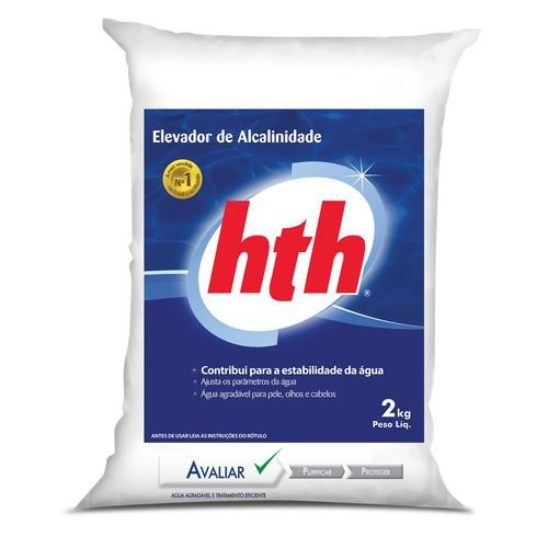 HTH-ELEVADOR DE ALCALINIDADE 2 KG
