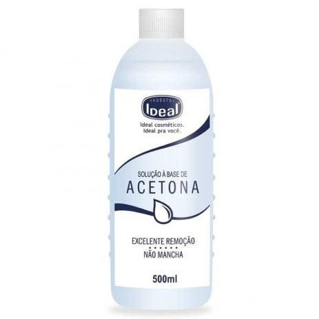 Acetona (removedor a base de acetona) Ideal 500ml