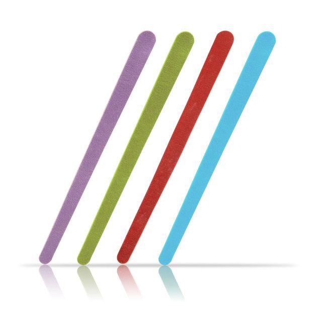 Lixa de Unha Colorida Profissional c/ 100 Unid