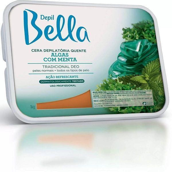 Cera Quente Algas 1kg - Depil Bella