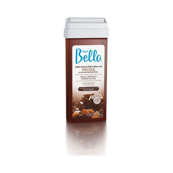 Cera Roll on Negra 100g - Depil Bella